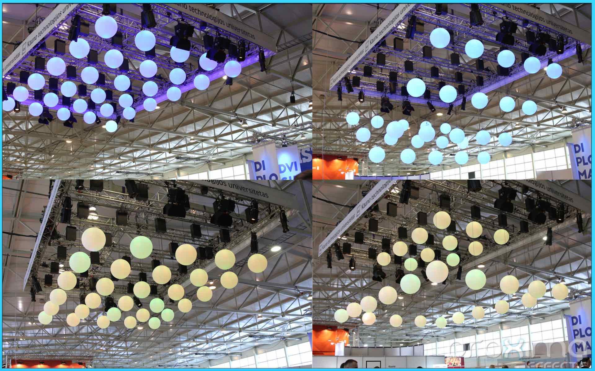 LED Kinetic Balls